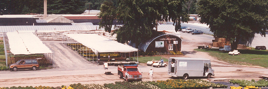 1990 - Pickup Area and Landscape